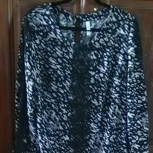 NWOT Xhilaration Black Gray Dress Size XXL/TTG